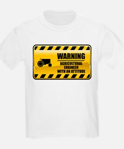 Warning Agricultural Engineer T-Shirt