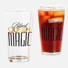 Black Queen Magic Drinking Glass