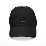 Live Love Reiki Black Cap