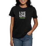 Live Love Reiki Women's Dark T-Shirt