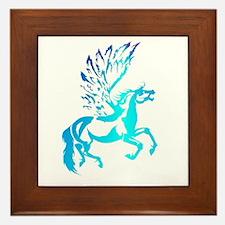 Simple Pegasus Framed Tile
