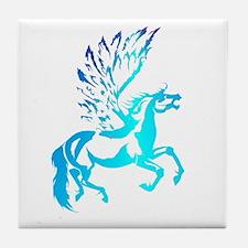 Simple Pegasus Tile Coaster