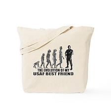 Evolution - My USAF Best Frnd Tote Bag