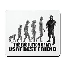 Evolution - My USAF Best Frnd Mousepad