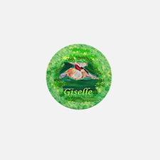 Cute Giselle Mini Button