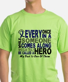 HERO Comes Along 1 Dad CC T-Shirt