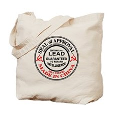 Toys Contain Lead Tote Bag