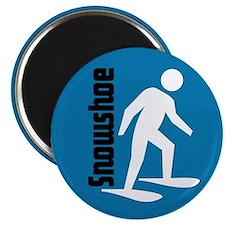 Snowshoe Magnet