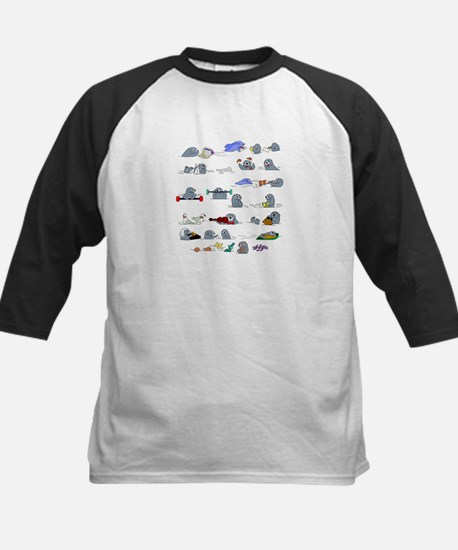Otters by the Sea Baseball Jersey