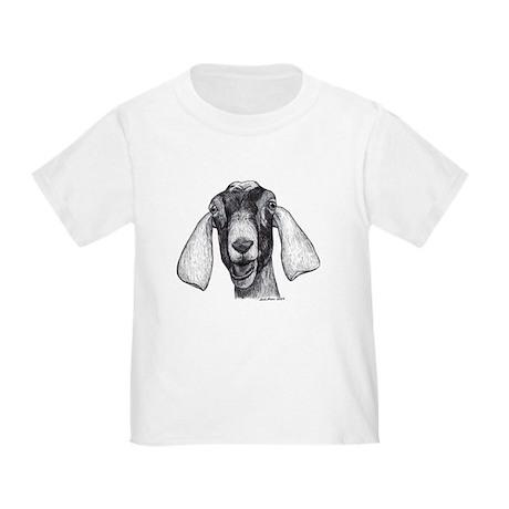 Nubian Goat Toddler T-Shirt