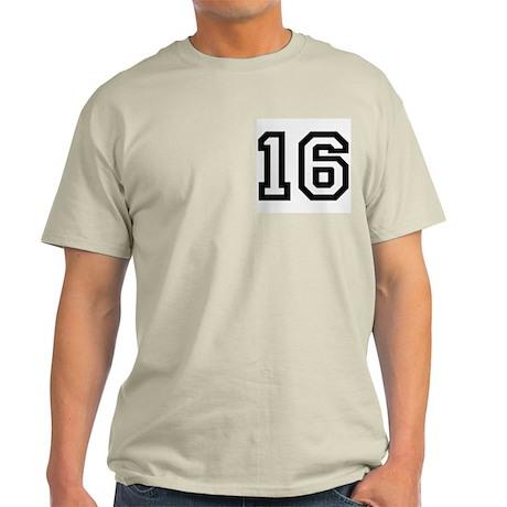 16 Ash Grey T-Shirt