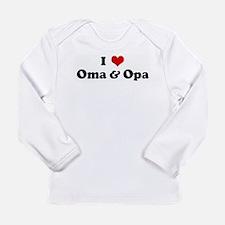 I Love Oma & Opa Long Sleeve T-Shirt