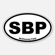 McChesney Field Oval Decal
