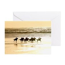 Unique Beach sunset Greeting Cards (Pk of 10)