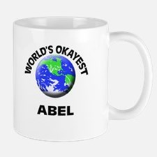 World's Okayest Abel Mugs