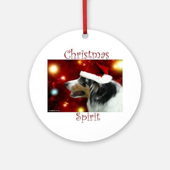 Aussie Spirit Ornament (Round)