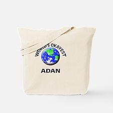 World's Okayest Adan Tote Bag