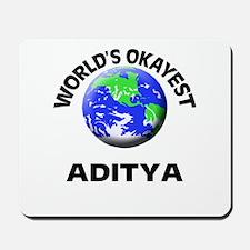 World's Okayest Aditya Mousepad