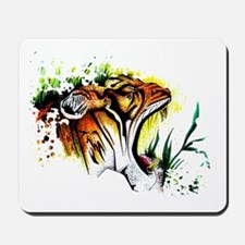 Tiger In The Wild Mousepad