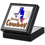 Texas Cowboy Keepsake Box