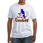 Texas Cowboy Fitted T-Shirt