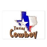 Texas Cowboy Postcards (Package of 8)
