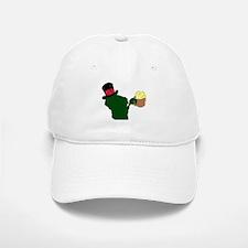 Wisconsin Beer & Top Hat- Bucks colors Baseball Baseball Cap