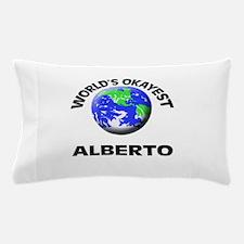 World's Okayest Alberto Pillow Case