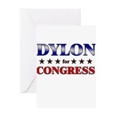 DYLON for congress Greeting Card
