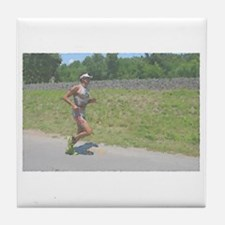 ONE STEP AT A TIME IMPRESSIONIST Tile Coaster