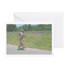 ONE STEP AT A TIME IMPRESSIONIST Greeting Card