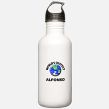 World's Okayest Alfons Sports Water Bottle