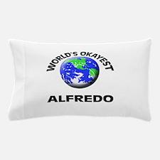 World's Okayest Alfredo Pillow Case