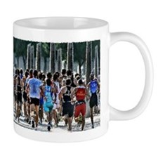 GOTTA GET TO THE FRONT PAINTING Mug
