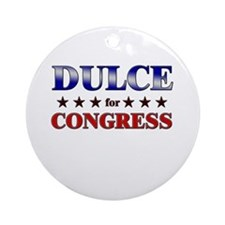 DULCE for congress Ornament (Round)