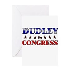 DUDLEY for congress Greeting Card