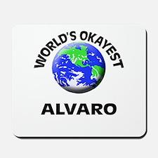 World's Okayest Alvaro Mousepad