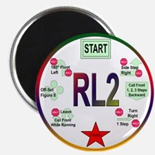 """Rally Level 2 2.25"""" Magnet (10 pack)"""