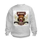 Diesel Pit Bull Stout Kids Sweatshirt