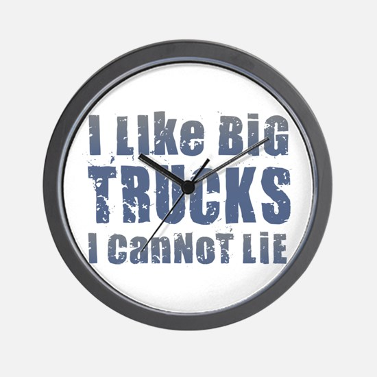 I Like Big Trucks Wall Clock
