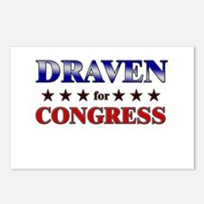 DRAVEN for congress Postcards (Package of 8)