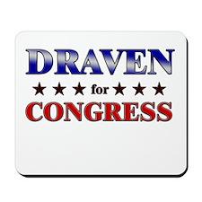 DRAVEN for congress Mousepad