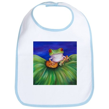Red Eyed Tree Frog Bib