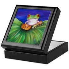 Red Eyed Tree Frog Keepsake Box