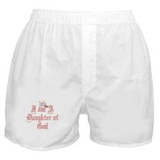 I AM A DAUGHTER OF GOD Boxer Shorts