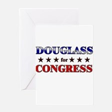 DOUGLASS for congress Greeting Card