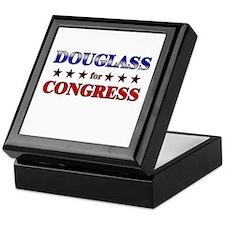 DOUGLASS for congress Keepsake Box