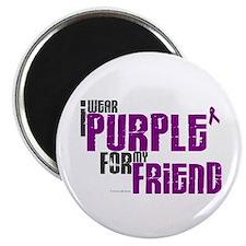 I Wear Purple For My Friend 6 (PC) Magnet