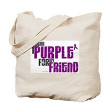 I Wear Purple For My Friend 6 (PC) Tote Bag