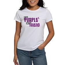 I Wear Purple For My Friend 6 (PC) Tee